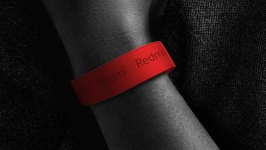Бренд Redmi представит свой первый фитнес-браслет: детали и фото