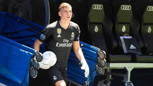 """""""Реал"""" повертає Луніна через коронавірус"""