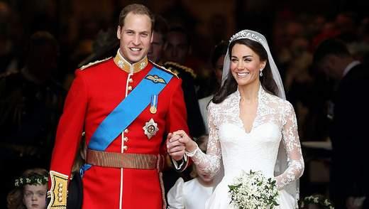 9 годовщина брака Кейт Миддлтон и принца Уильяма: архивные фото свадьбы