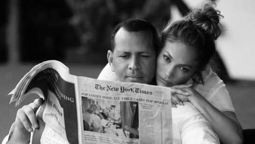Дженнифер Лопес на фото с женихом показала, почему важно поддерживать любимых во время пандемии