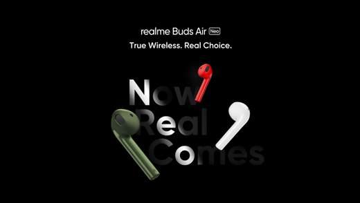 Realme  випустила дуже бюджетні бездротові навушники