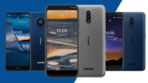 """Nokia представила два новых """"бюджетника"""" на Android 10"""
