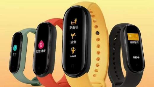 Xiaomi показала все варианты Mi Band 5 на официальном тизере