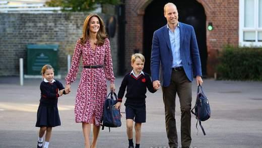Кейт Міддлтон та принц Вільям замилували мережу рідкісним фото з дітьми