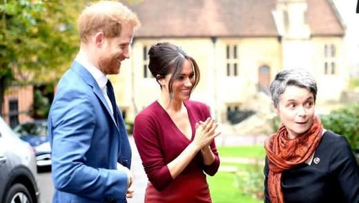 Принц Гаррі і Меган Маркл взяли участь в благодійній акції: перший вихід за довгий час