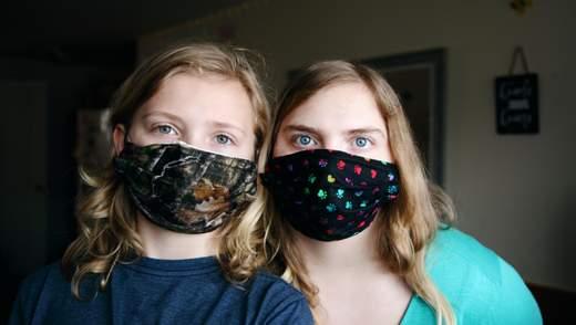 Як заоохотити дітей носити маски під час пандемії COVID-19