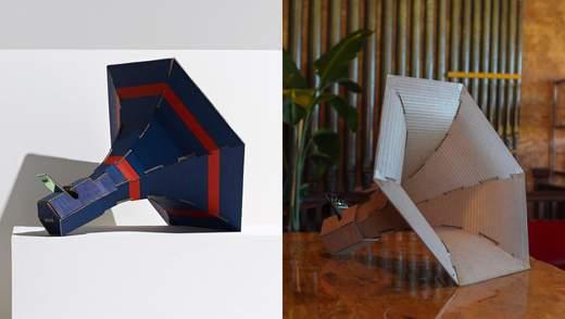Диванний столик та стіл-монстр: 5 крутих деталей для дому, виготовлених з картону – фото
