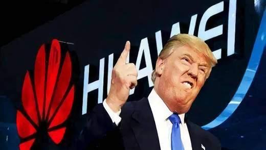 """""""Я зробив це сам"""": Трамп про заборону Huawei  у Великобританії"""