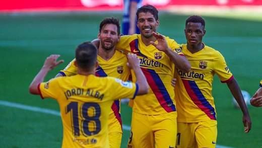"""""""Барселона"""" на чолі з Мессі знищила """"Алавес"""": відео"""