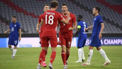 """""""Баварія"""" знову розгромила """"Челсі"""" та вийшла в 1/4 фіналу Ліги чемпіонів: відео"""