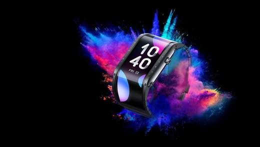 Nubia представила смарт-часы Nubia Watch с гибким дисплеем и поддержкой голосовых вызовов