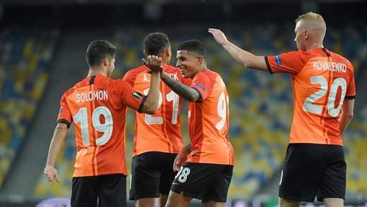 """""""Шахтар"""" завдяки перемозі над """"Вольфсбургом"""" піднявся у топ-15 клубного рейтингу УЄФА"""