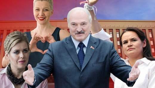 Выборы в Беларуси: Лукашенко против молодых женщин