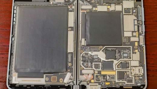 Журналистам Сnet показали прозрачную версию смартфона Microsoft Surface Duo: фото, видео