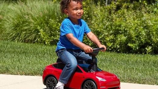 Tesla за 100 доларів: створили дитячу версію електрокара – фото, відео