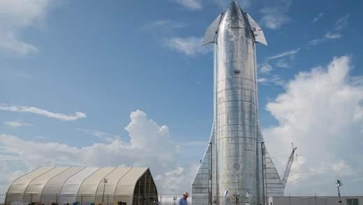 """Илон Маск анонсировал первый """"серьезный"""" полет космического корабля Starship"""