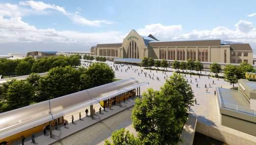 Як може змінитися Вокзальна площа в Києві: сучасний проєкт реконструкції – фото
