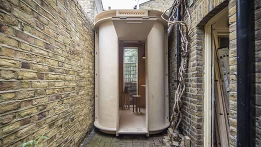 Як виглядає один з найвужчих домашніх офісів у світі: дерев'яна капсула з Лондона – фото