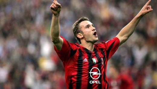Царь Лиги чемпионов: УЕФА вспомнил лучшие голы Шевченко в еврокубках – видео