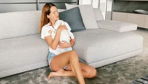 Мисс Украина Олеся Стефанко показала маленького сына: миловидное фото