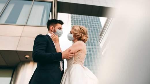 Сколько браков зарегистрировано в Украине за время карантина: неожиданные данные Минюста