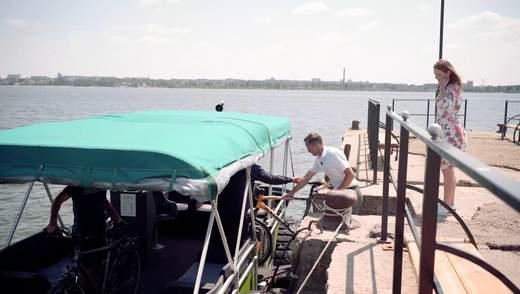 Село, яке ламає стереотипи: на Миколаївщині запустили унікальний річковий трамвай – фото