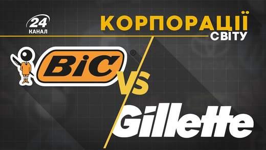 Bic проти Gillete: як зухвала й провокативна реклама дозволила вибороти успіх