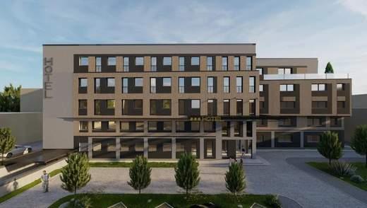 Неподалік центру Львова побудують новий 5-поверховий готель: фото