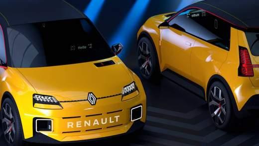 Легендарний хетчбек Renault 5 відродять у вигляді електрокара: захопливі фото