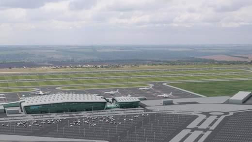 У Дніпрі почали будувати новий аеродром: обіцяють закінчити за кілька років