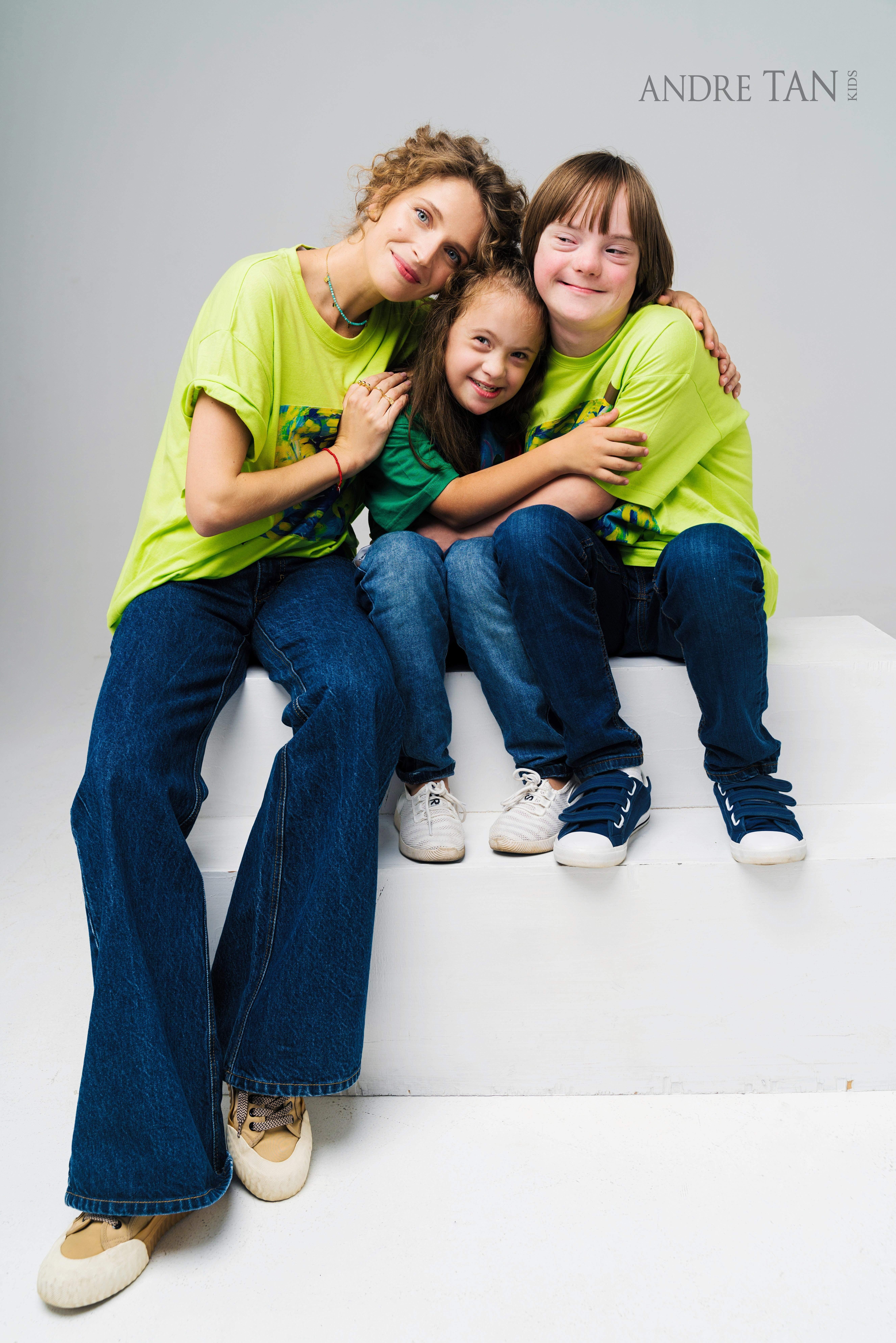 зірки у зйомці з дітьми з особливими потребами