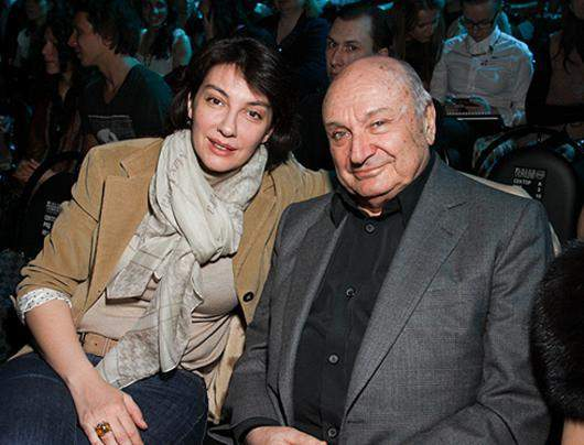 Михайло Жванецький з дружиною Наталією Суровою