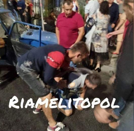 У Мелітополі над винуватцем ДТП люди намагалися вчинити самосуд