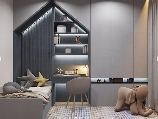 Кімната у відтінках сірого