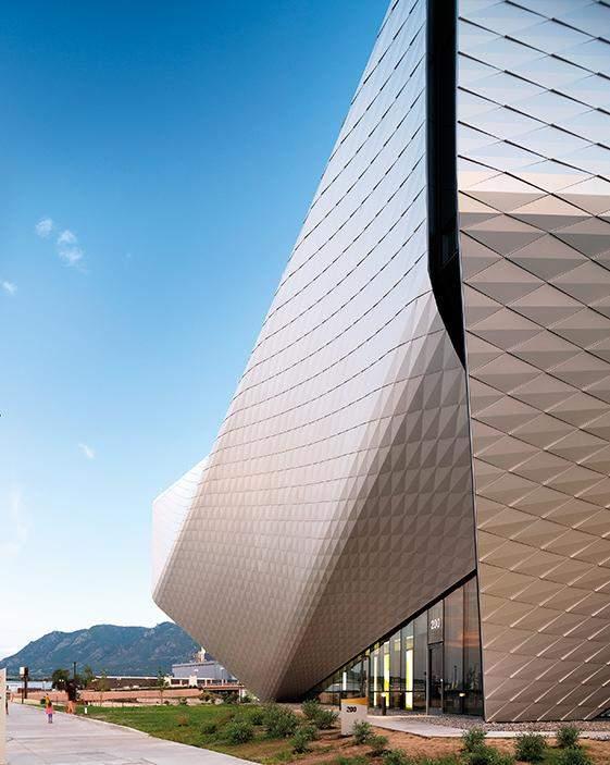 Незвичний фасад музею якнайкраще випромінює його дух / Фото Harmonies Magazine