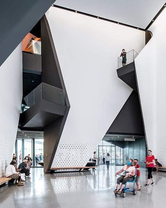 Інтер'єр музею / Фото Harmonies Magazine
