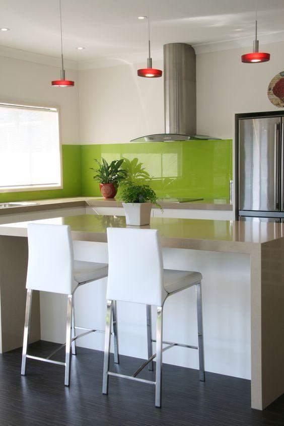 Уникайте кольору лайма на кухні