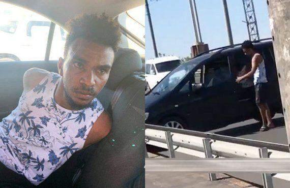 У Полтаві мешканець Судану викрав автівку з дітьми у салоні