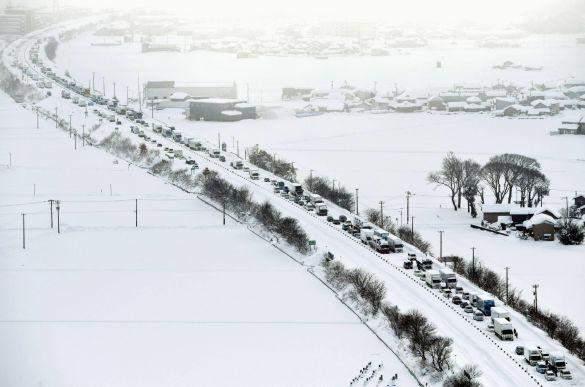 Снігопад в Японії