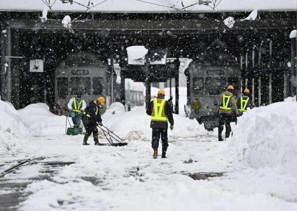 Снігопад Японія