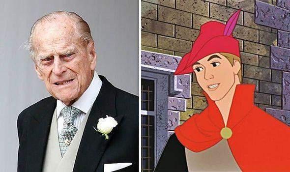 Принц Філіп у мультфільмі