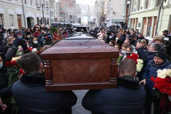 Церемонія прощання з Андрієм М'ягковим