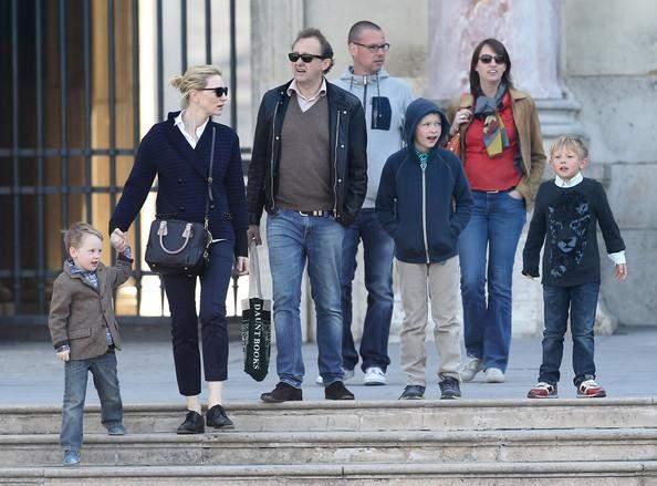 Кейт Бланшетт з чоловіком і дітьми