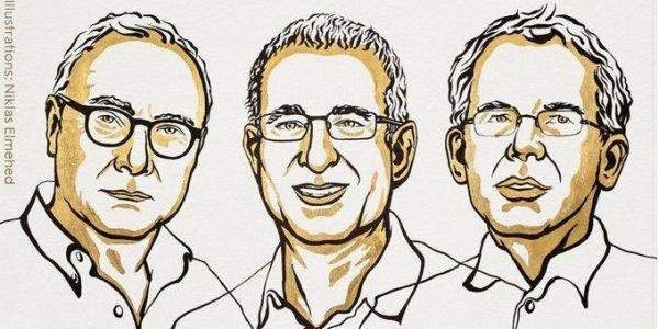 Лауреатами Нобелівської премії з економіки 2021 Девід Кард, Джошуа Ангріст і Гвідо Імбен