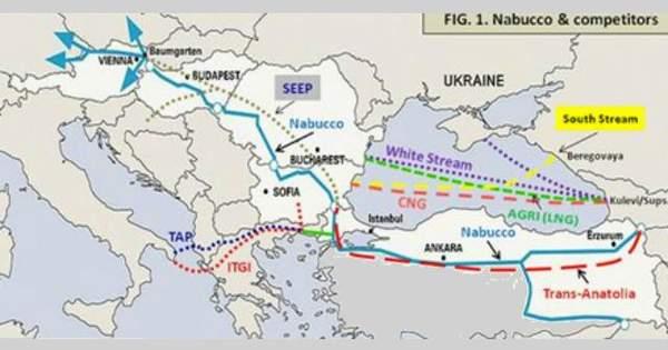 Турция ратифицировала соглашение по газопроводу NABUCCO