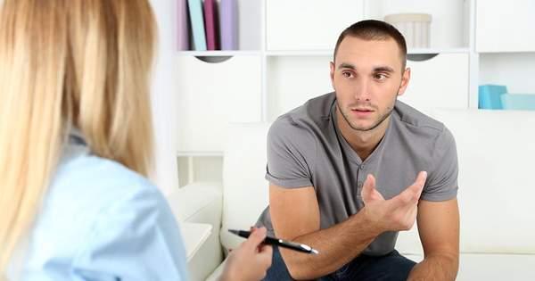 Поход к психотерапевту