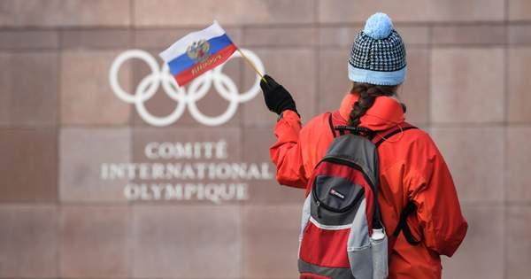 Российским спортсменам запретили использовать на Олимпиаде свою символику