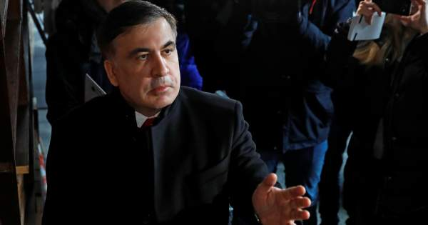 Якщо екс-президент Грузії збирається проводити кампанію проти української  влади 9f37023142d54