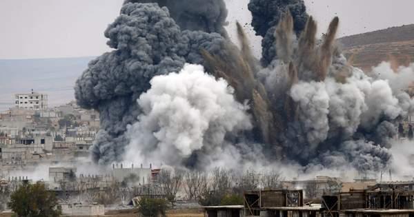 В Пентагоне сообщили, что США и союзники нанесли авиаудары по трем объ