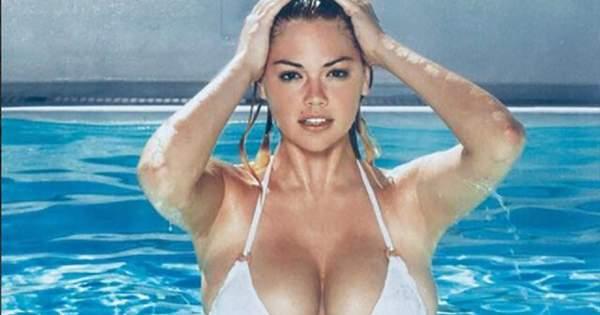 Модель Кейт Аптон знялася у новій пляжній фотосесії у рамках рекламної  кампанії бренду Yamamay. 25-річна Кейт виглядає краще 71c3abc47b35b